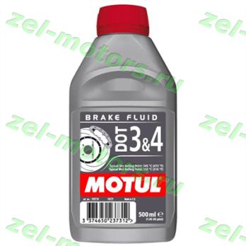102718  DOT 3&4 Breake Fluid тормозная жидкость 0,5л