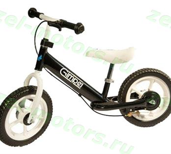 Беговел Gimpel LS 12 (Brake) Black  4670025459013