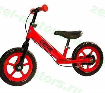 Беговел Gimpel LS 12 (Brake) Red  4670025459020